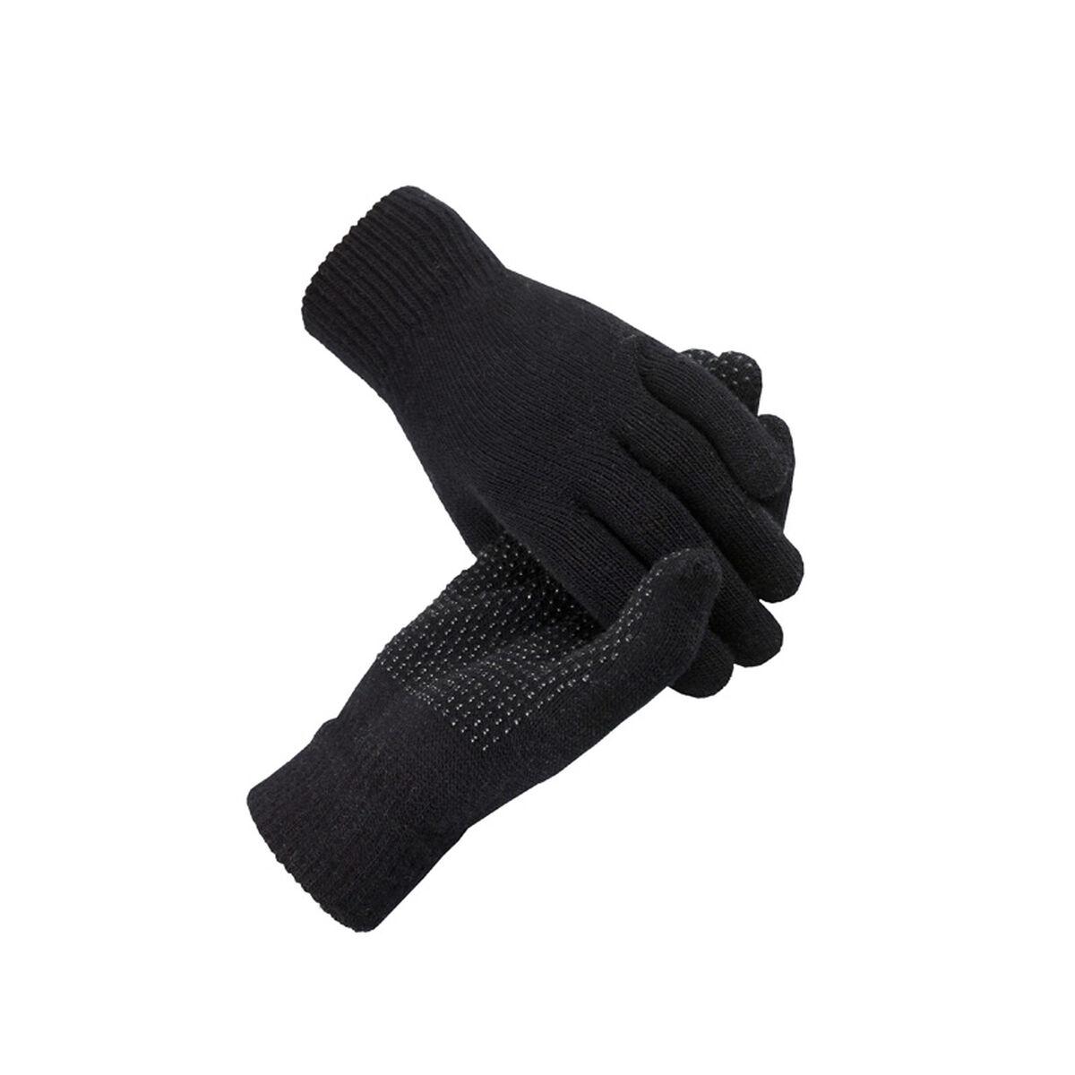 Black gloves white magic - Horze Magic Gloves