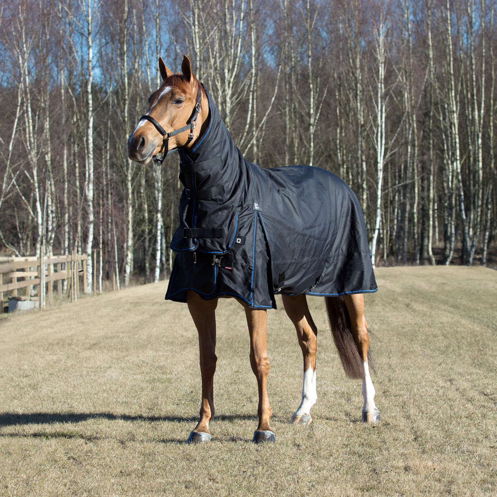 Horze Avalanche 1200D Heavy Weight Combo Turnout