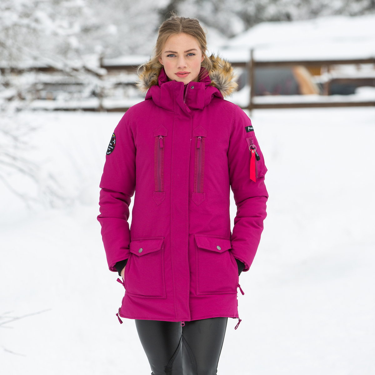 outlet jackets coldwater outerwear barn creek barns quilted womens large main jacket vine