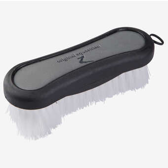 Horze Maddox Leather Handle Face Brush