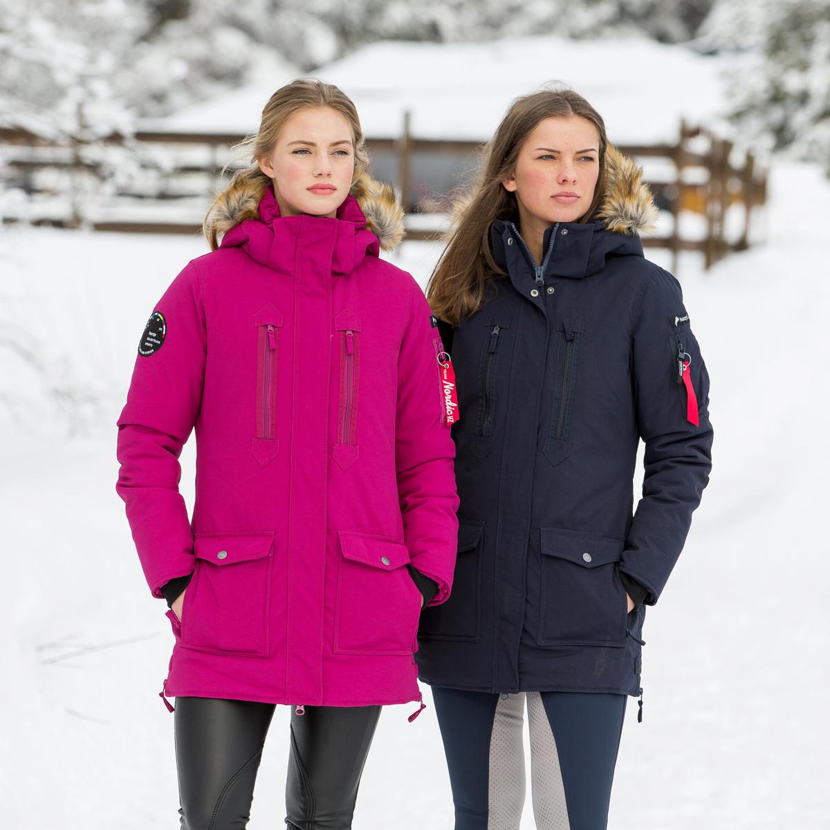 Horze Brooke Women's Long Parka Jacket | Horze