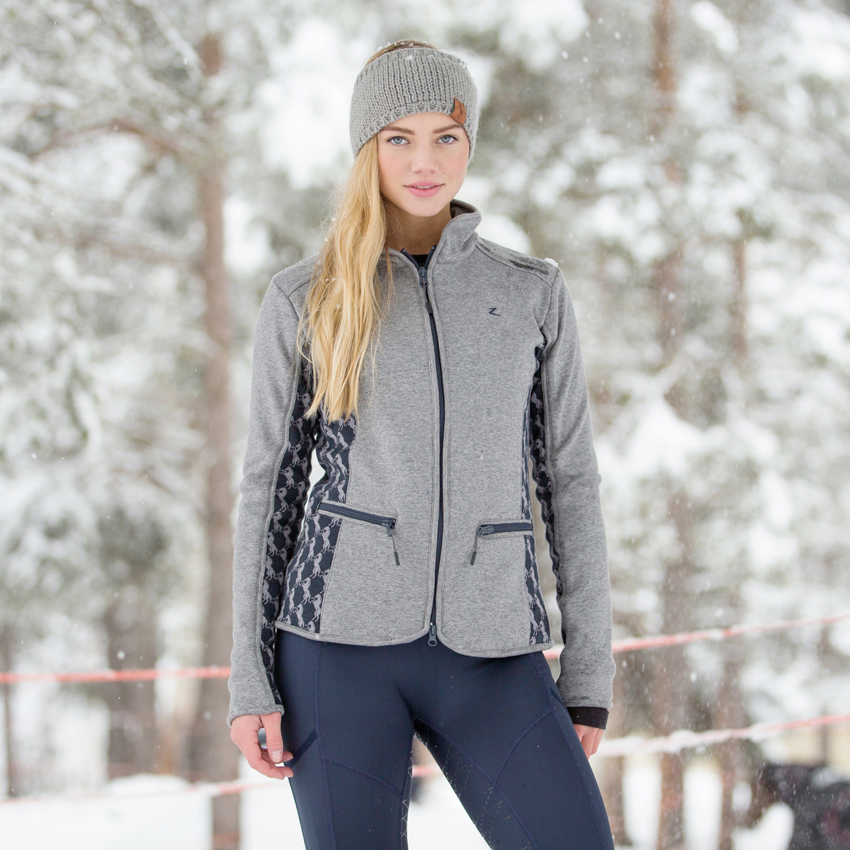 Horze Abrianna Women's Fleece Jacket | Horze