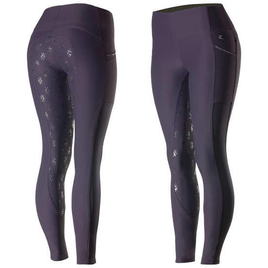 10976f41330302 Horze Leah Women's UV Pro Riding Tights | Horze