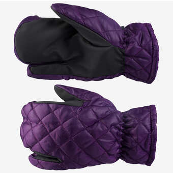 Horze Quilted 3-Finger Winter Gloves